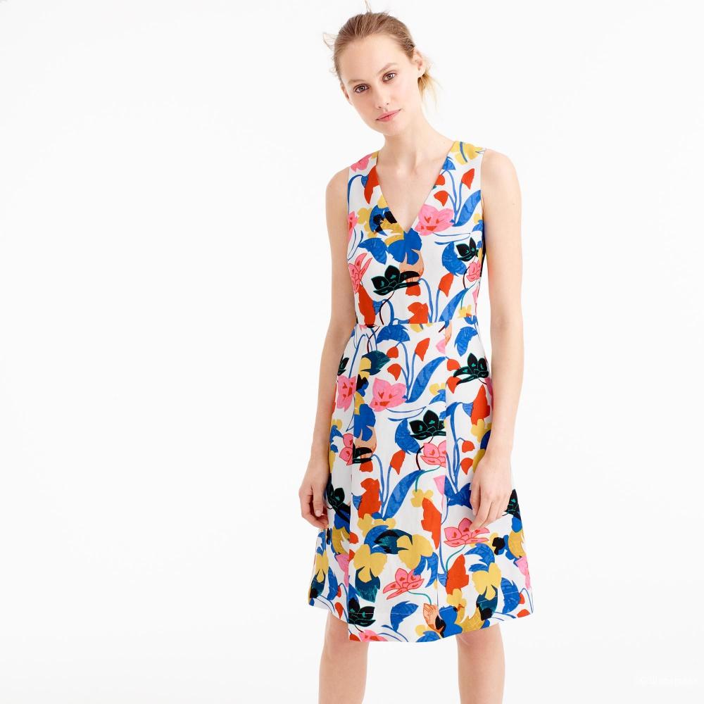 Платье J Crew размер 2 регуляр