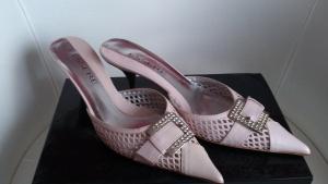 Босоножки =Туфли с закрытым носом без пятки ESSERE, размер 38, Италия