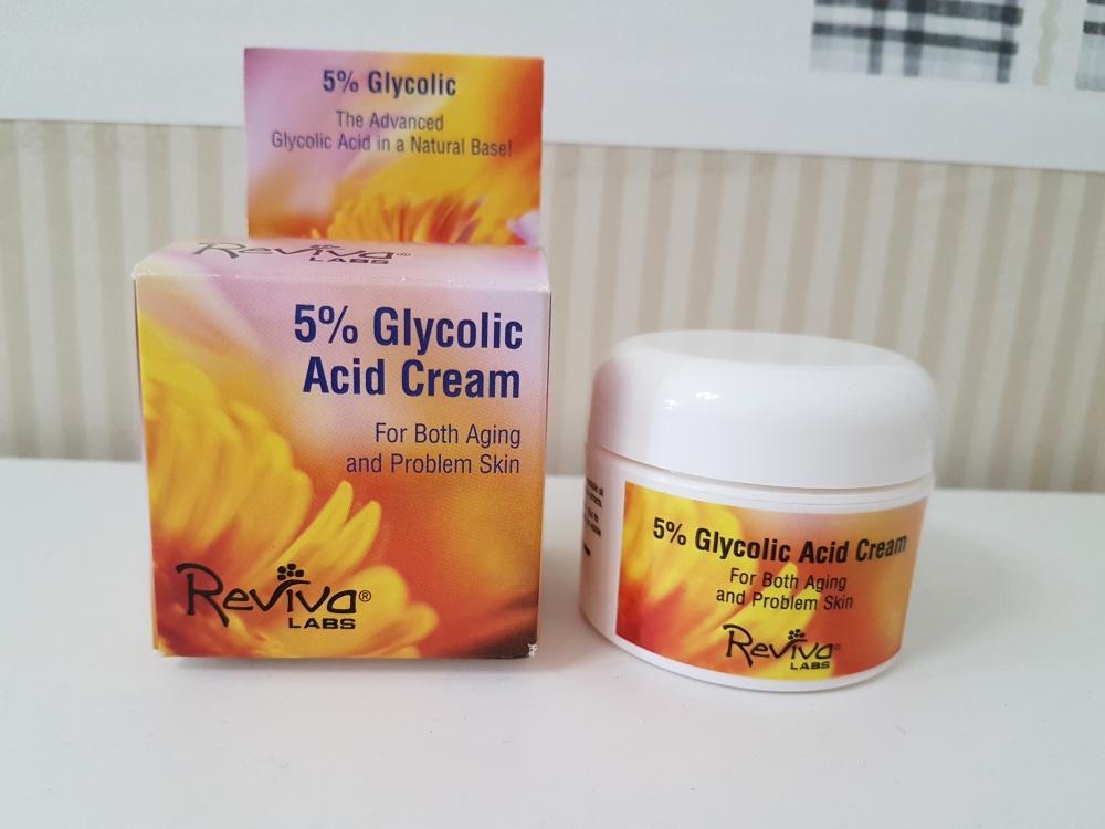 Бестселлер iHerb – крем Reviva Labs с 5% гликолевой кислотой, 42 г