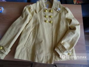 Куртка А-силуэта укороченная, размер 42-44,б/у
