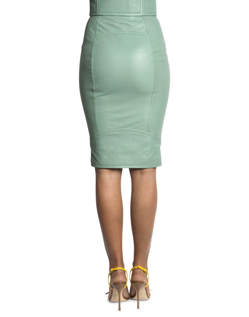 Кожаная юбка DSquared2 оригинал 40IT