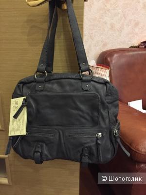 Новая сумка из натуральной телячьей кожи La redoute