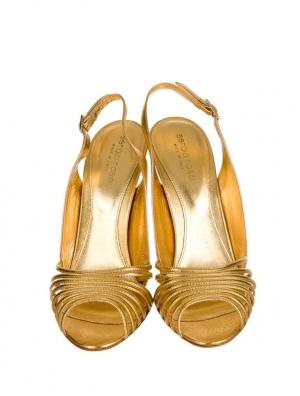 Sergio Rossi кожаные сандалии.