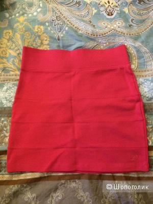 Юбка Tom Tailor ярко-розовая на 42-44р, маркировка s