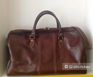 Кожаная дорожная сумка от Roberta Minelli, Италия, б\у
