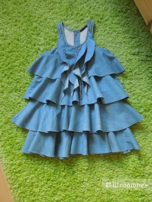 SISLEY джинсовое платье