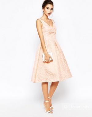 Жаккардовое платье-миди True Decadence 44-46 размер как новое