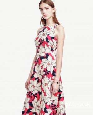Льняное платье Ann Taylor размер 42