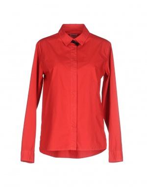 Классическая рубашка ..,MERCI, L (Международный Размер). На рос. 46. Красная