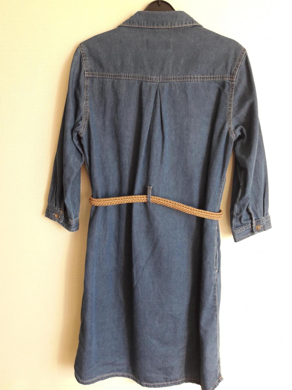 Джинсовое платье размер 44