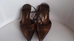 Туфли с открытой пяткой Giotto, размер 38, Россия-Италия