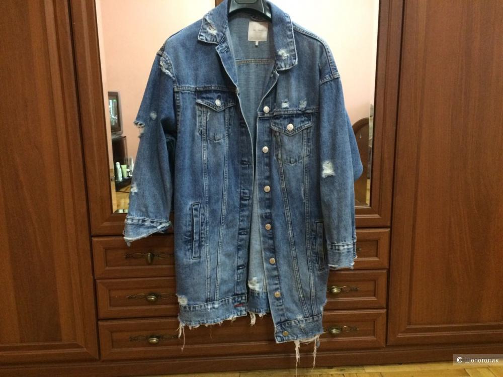 8d703737 Джинсовая куртка ZARA. Размер S, в магазине ZARA — на Шопоголик