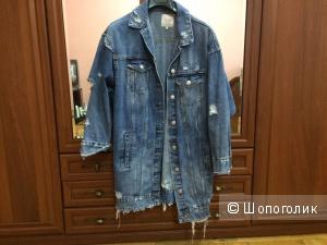 Джинсовая куртка ZARA. Размер S