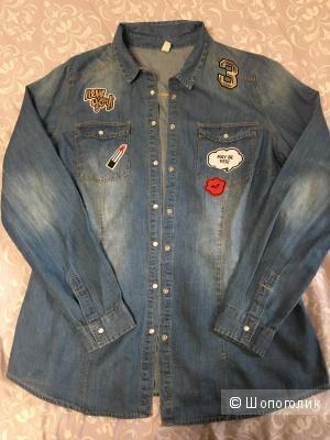 Джинсовая рубашка Zola M/L