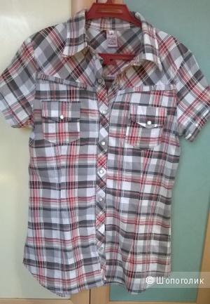 Рубашка на кнопках 44-46 размер