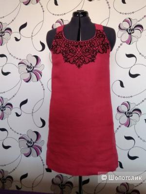 Платье-сарафан NEXT малинового цвета, р-р 48-50