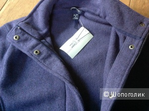 Lands end sweater fleece куртка на 48-50