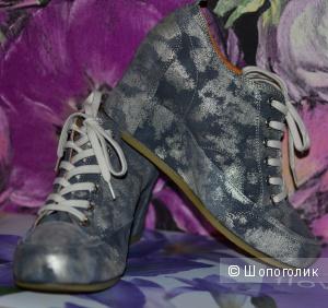 Модные полуботинки / кроссовки / туфли Tervolina 41 размер