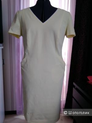 Платье хлопковое Escada Sport, лимонного цвета, р-р 50-52