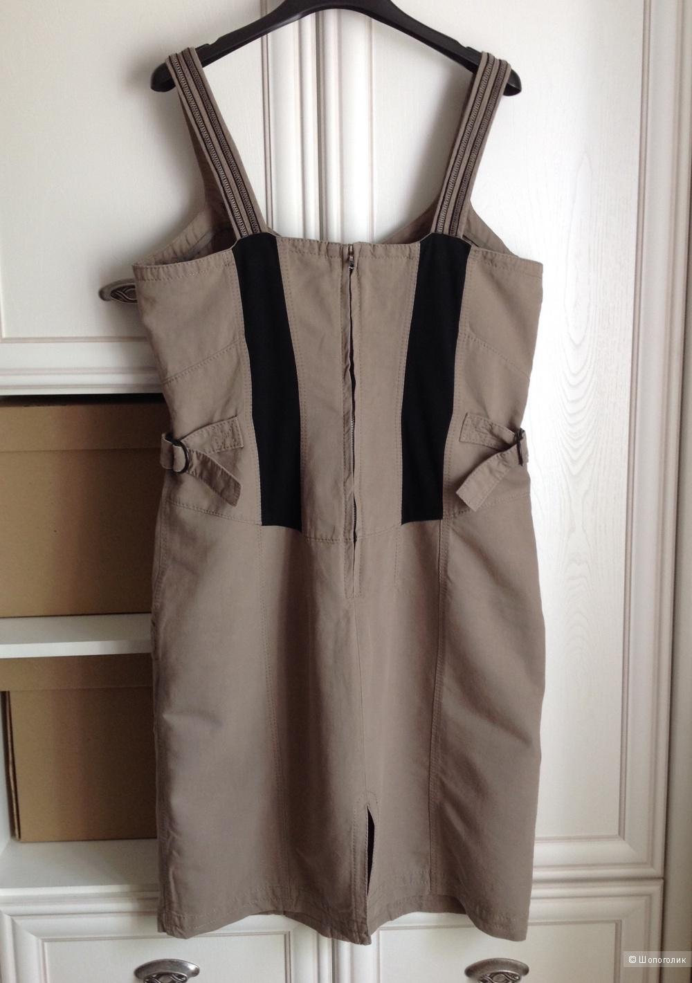 Платье лен-хлопок Marc Cain, размер 46-48.
