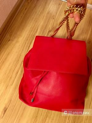 Шикарный рюкзак Jolie by Edward Spiers, цвет красный, Италия, кожа