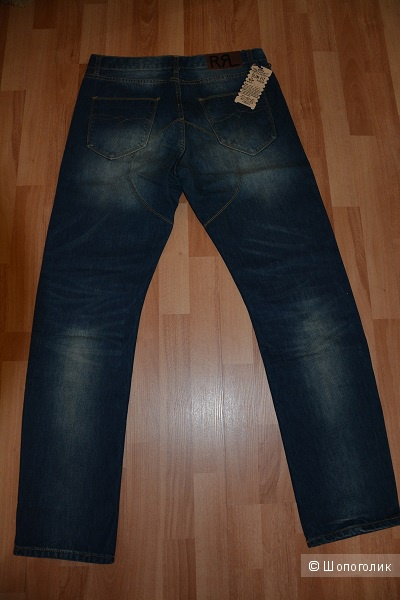 Джинсы Double RL by Ralph Lauren Slim fit (Made in USA)