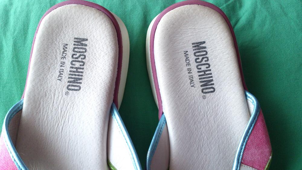 Шлепанцы Moschino, размер 38, Италия