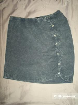 Хлопковая трикотажная юбка от Bench р M на 44-46.