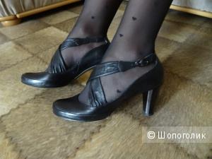 """Туфли """"D""""ORO classik"""", кожа, размер 38, б/у"""
