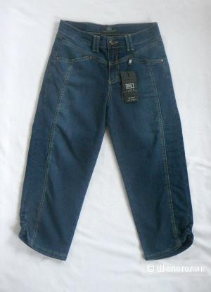Джинсовые бриджи Jeans by Bessie р46 (Италия)