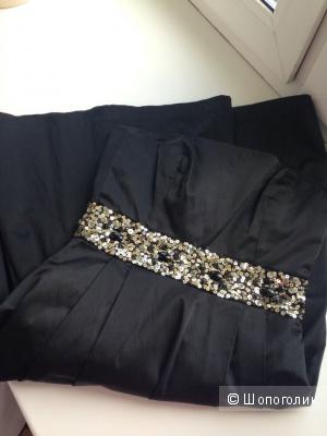 Платье-бандо ZARA