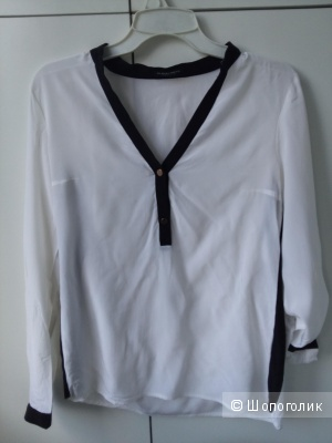 Новая шёлковая блузка  Blacky Dress на 44 размер