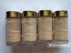 Минеральная пудра Clarins Clarins Skin Illusion Mineral & Plant Extracts Loose Powder Foundation