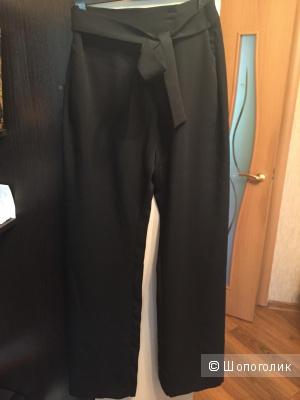 Чёрные брюки zara