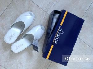 Шлепанцы (прогулочная, домашняя обувь) греческой марки Gastor, размер 40.