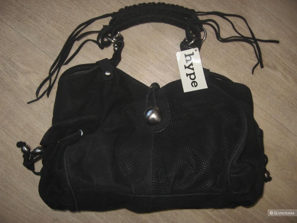"""Новая кожаная сумка """"Hype"""""""
