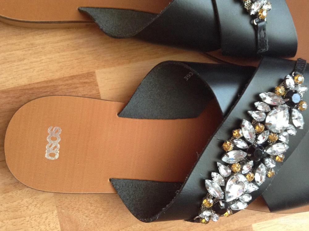 Сандалии кожаные с сайта Asos
