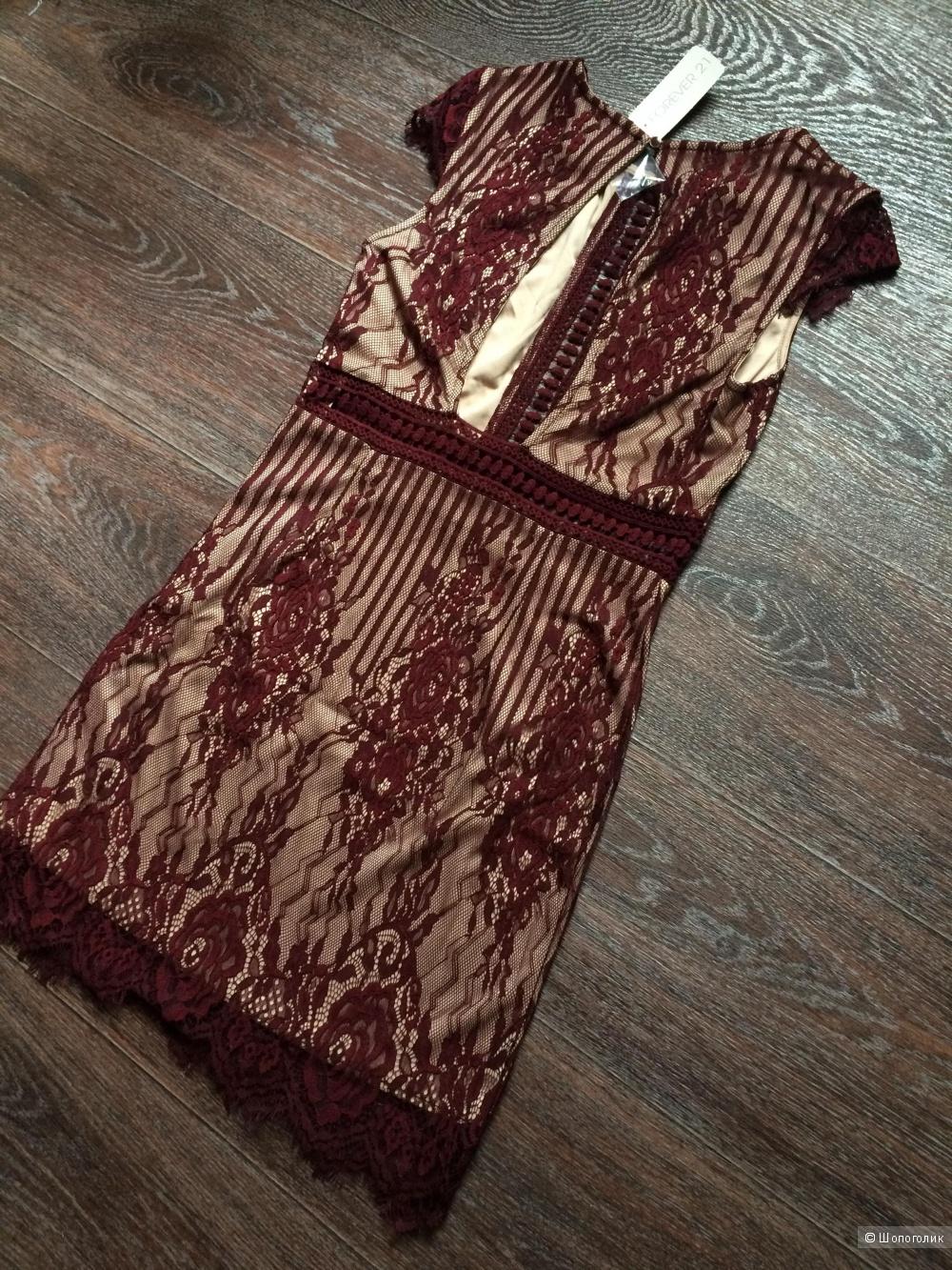 Новое платье forever21, р-р S