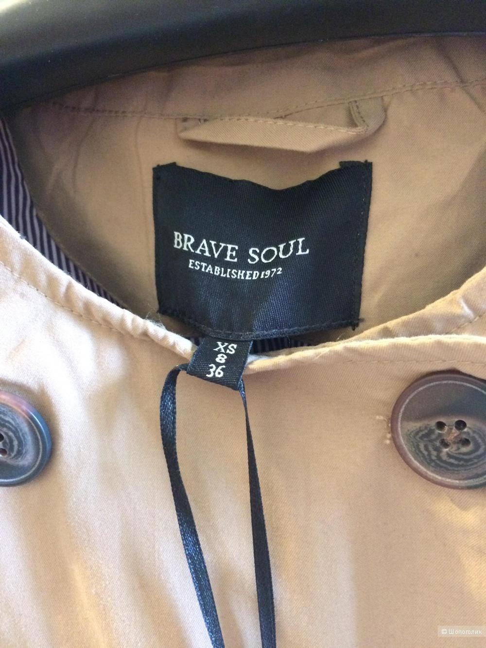 Тренч новый brave soul