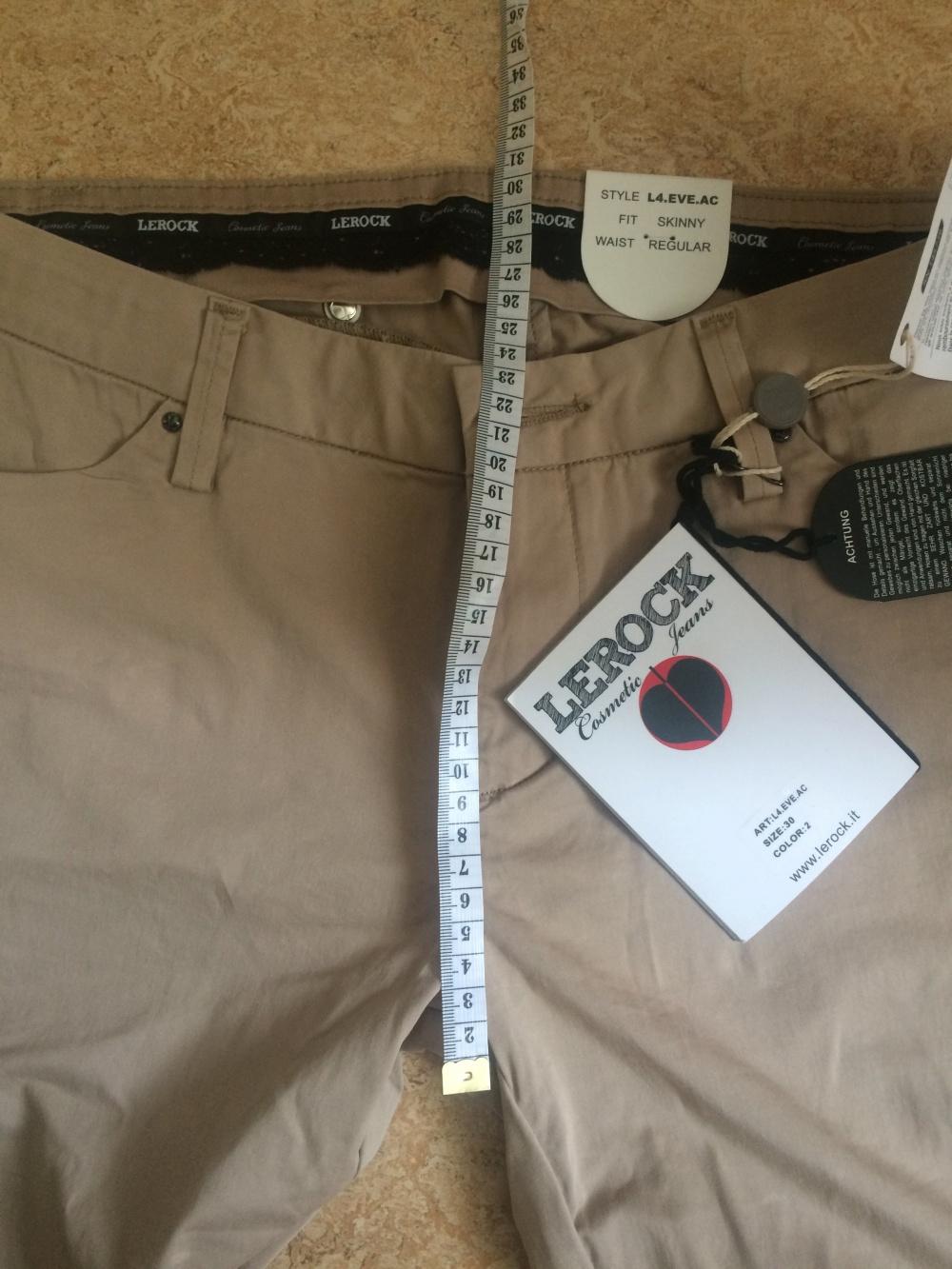 Новое антицелюлитные джинсы-брюки LEROCK EVE COSMETIC JEANS 29 размер