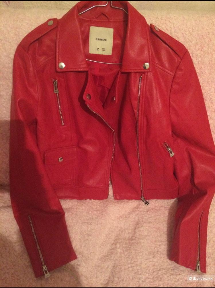 Куртка из эко-кожи Pull&Bear
