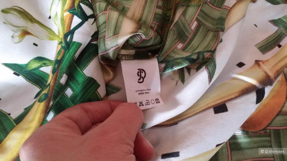 Платье натуральный шелк YULIA DUSHINA/ Юлия Душина, 44 размер