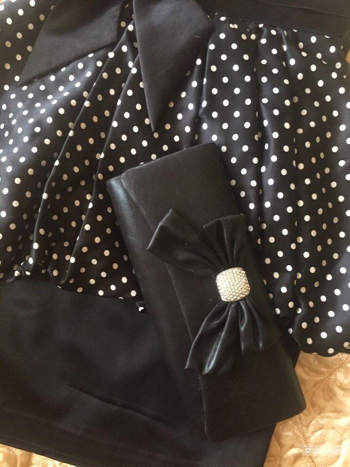 Нарядное платье в идеальном состоянии + клатч в подарок