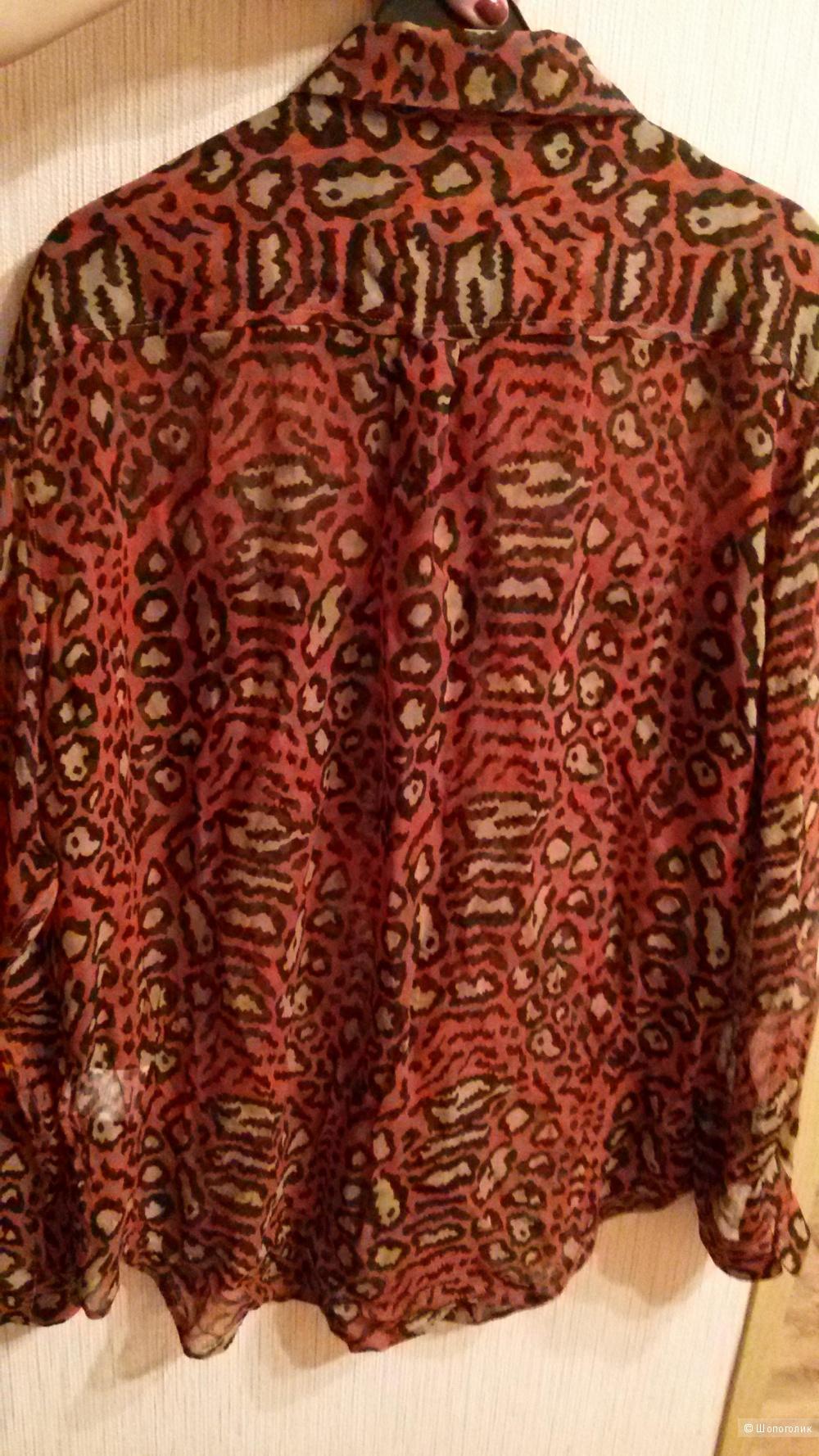 Шелковая блузка Equipment Femme р. М (48)