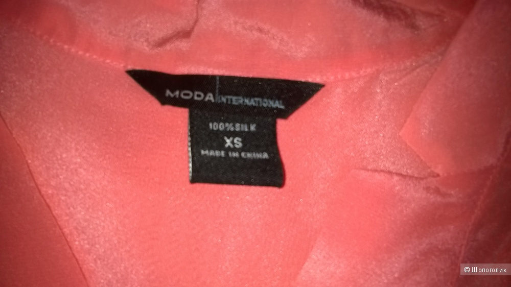 Шелковая рубашка Виктория Сикрет