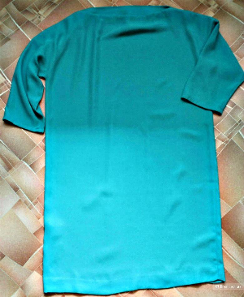 Бирюзовое платье MANGO,размер S,рус.42-44
