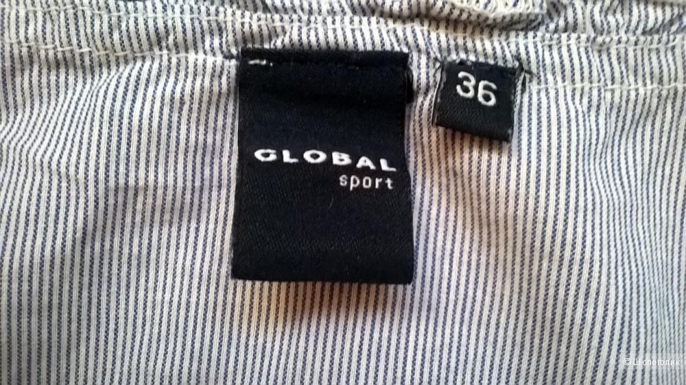 Блуза хлопок Global 44размер