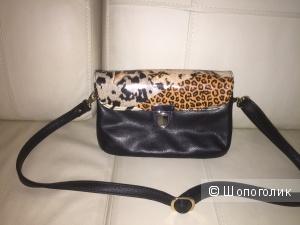 Новая сумка кросбоди чёрный цвет 17х25