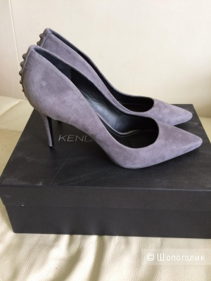 Новые замшевые туфли kendall+Kylie