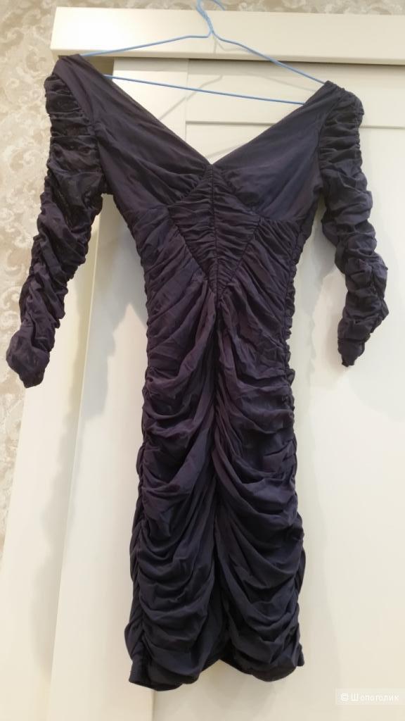 Облегающее платье-мини XS
